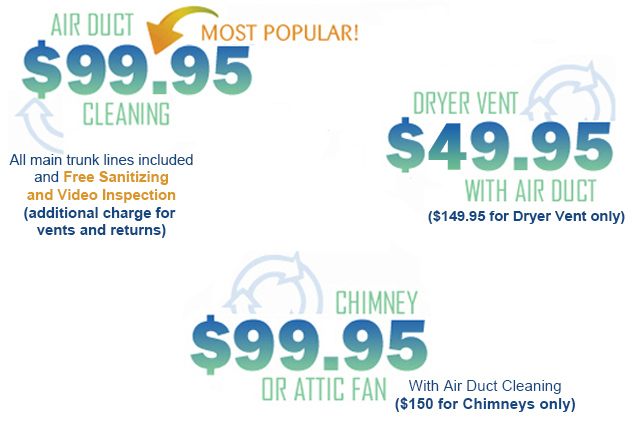 AAA Quality Air Duct & Carpet Cleaning Specials
