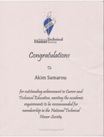 The National Technical Honor Society